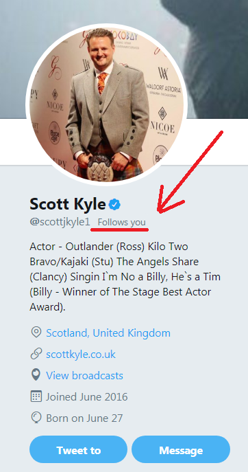Scott Kyle - Outlander's Ross