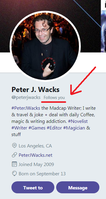 Peter J Wacks